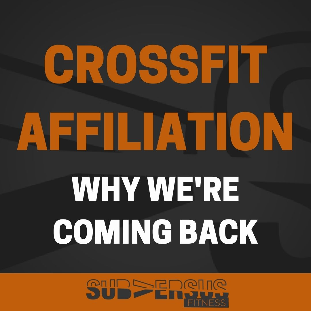 Re-affiliating with CrossFit